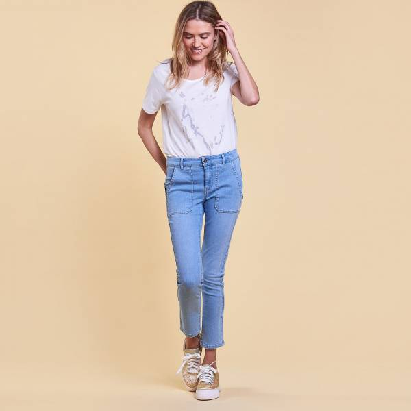 JEANS STRAIGHT CROPPED JAMILA